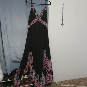 Black handkerchief dress